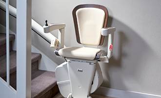 image of New luxury stairlift seat: Alliance