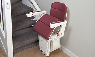 image of Active Seat: getting off your stairlift easily