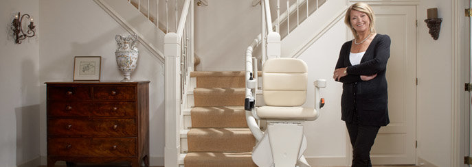 Handicare Stairlift Rembrandt with Elegance seat