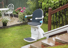 1000 Outdoor - straight stairlift